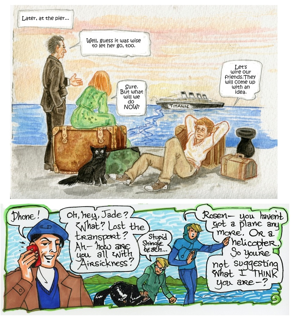 Traveling, Page 3